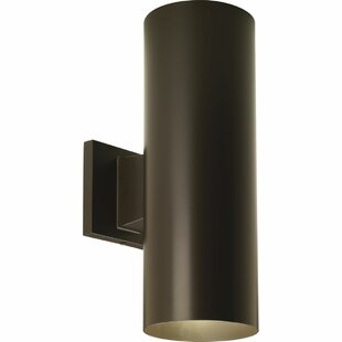 Everts Cylinder 2-Light Outdoor Sconce