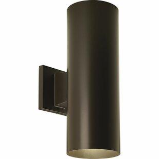 Everts Cylinder 2-Light Outdoor Sconce