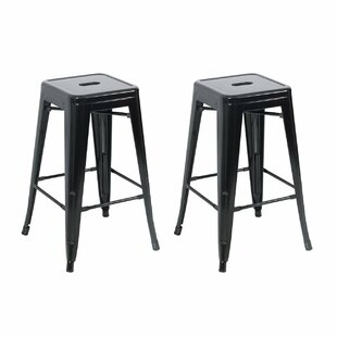 Inexpensive 26 Bar Stool (Set of 2) by Belleze Reviews (2019) & Buyer's Guide