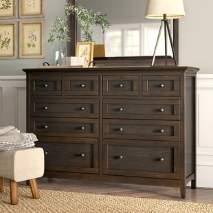 Calila 10 Drawer Double Dresser