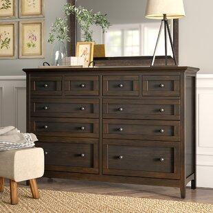 Calila 10 Drawer Double Dresser