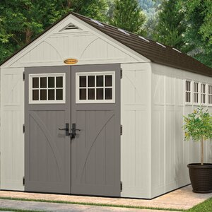 Tremont 8 ft. 5 in. W x 16 ft. 4 in. D Plastic Storage Shed