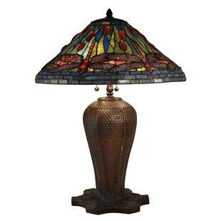 Rush Cardinal Dragonfly 26.5 Table Lamp
