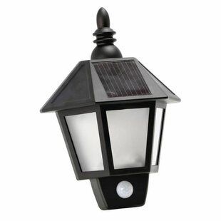 Nakia Solarline Solar Outdoor Wall Lantern Image
