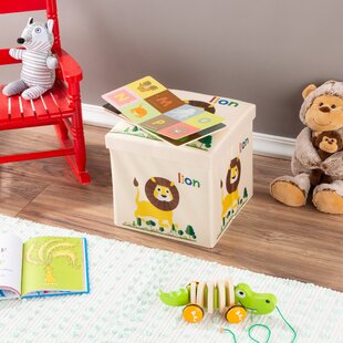 Carrillo Collapsible Ottoman Toy Box by Zoomie Kids