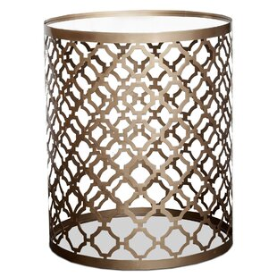 Lakim End Table by Everly Quinn