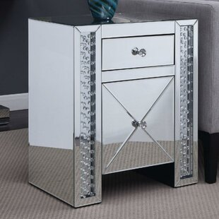 Mountview 2 Drawer Acrylic End Table