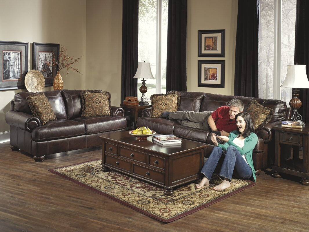 Bannister Leather Sofa Reviews Birch Lane ~ Leather Sofa And Loveseat
