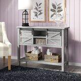 Marceline Farmhouse Console Table by Gracie Oaks