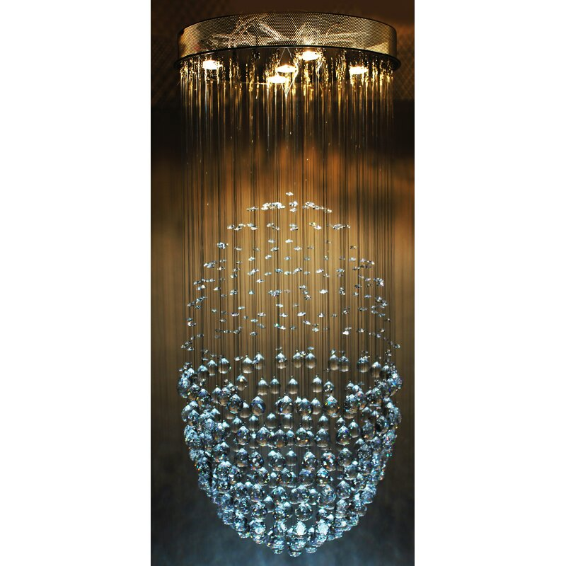 Lovely Large Spiral Crystal Chandelier Led Suspension Luminaire Lights For Living Room Chandelier Lighting Stairway Gold Led Chandelier Convenient To Cook Lights & Lighting