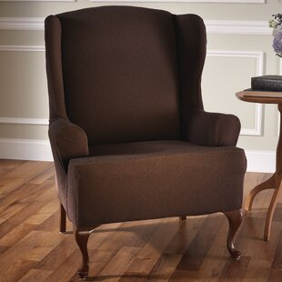 Wing Chair Slipcovers Youll Love Wayfair