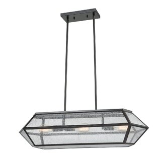 Lizete 3-Light Kitchen Island Pendant by Union Rustic