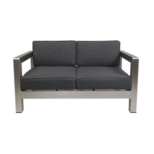 Herbst 2 Piece 2 Person Seating Group with Cushions