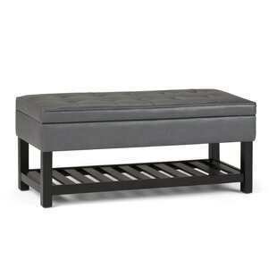 Alcott Hill Amador Entryway Upholstered Storage Bench with Open Bottom