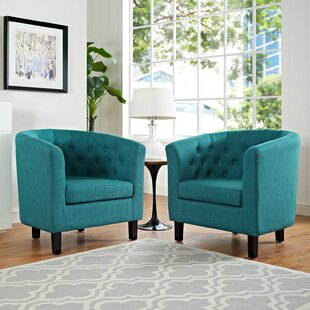 Low priced Oxford Armchair (Set of 2) by House of Hampton Reviews (2019) & Buyer's Guide