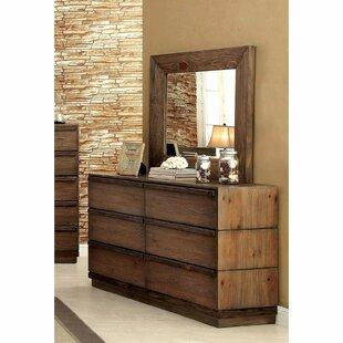 Union Rustic Pisani Double Dresser