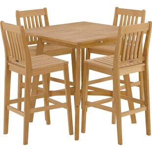 Breakwater Bay Laney 5 Piece Bar Height Dining Set