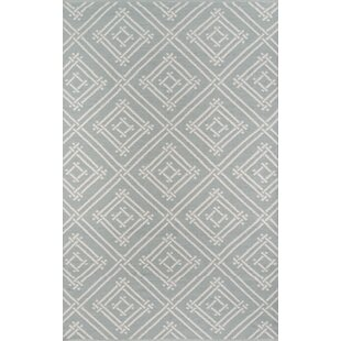 Moralez Handwoven Flatweave Gray Indoor/Outdoor Area Rug