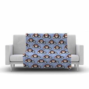 Cristina Bianco Design Cute Penguins Pattern Fleece Blanket 747211171