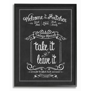 Awesome Decorative Kitchen Chalkboards | Wayfair