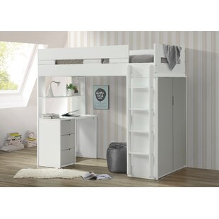 Reviews Abinash Twin Loft Bed by Mack & Milo Reviews (2019) & Buyer's Guide