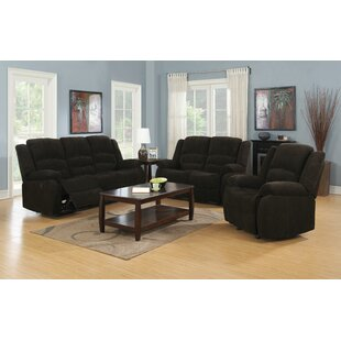 Falls Reclining Configurable Living Room Set
