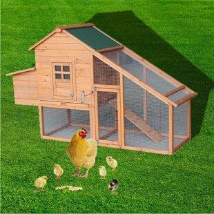 Ramires Backyard Wooden Chicken Coop House By Tucker Murphy Pet