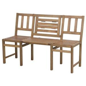 3-Sitzer Gartenbank aus Akazienholz von Siena Ga..