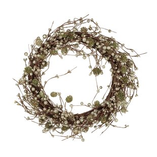 Decorated 50cm Christmas Wreath By The Seasonal Aisle