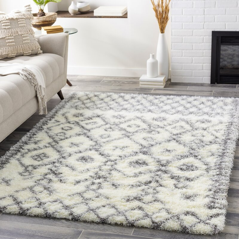 Witcher Bohemian Cream Taupe Area Rug