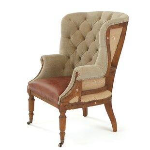 Cublington Wingback Chair by Rosalind Wheeler