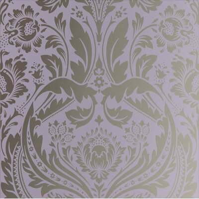 Desire Black Wallpaper Graham & Brown Color: Purple