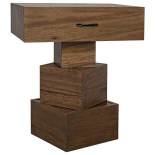 Grobius End Table by Noir