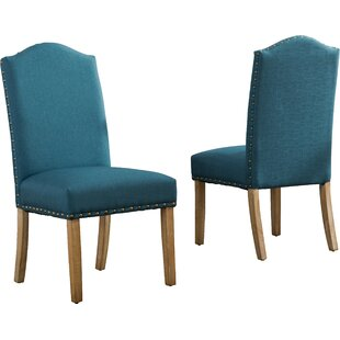 Mistana Isla Upholstered Dining Chair (Set of 2)
