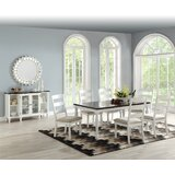 Gearld 7 Piece Dining Set by Highland Dunes