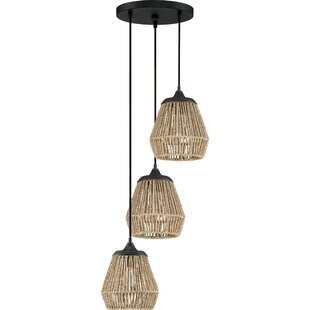 Trace 3-Light Cluster Pendant by Bay Isle Home