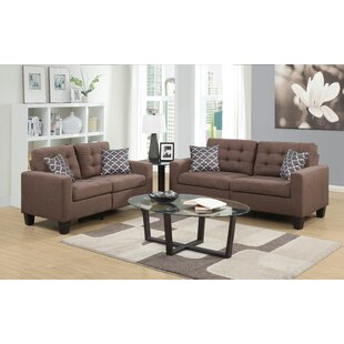 Anaheid 2 Piece Living Room Set by Ebern Designs