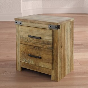 Mistana Kenia 2 Drawer Nightstand