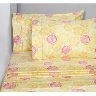 Newark Lemon Lime 400 Thread Count 100% Cotton Sheet Set