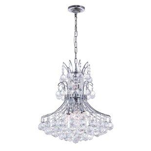 Savings Trenton 8-Light Crystal Chandelier By House of Hampton
