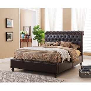 Gina Upholstered Platform Bed
