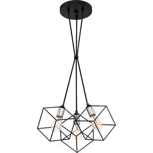 Wrought Studio Theodorus 3-Light Cluster Pendant