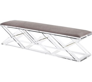 Asher Vanity Upholstered Bench by Interlude