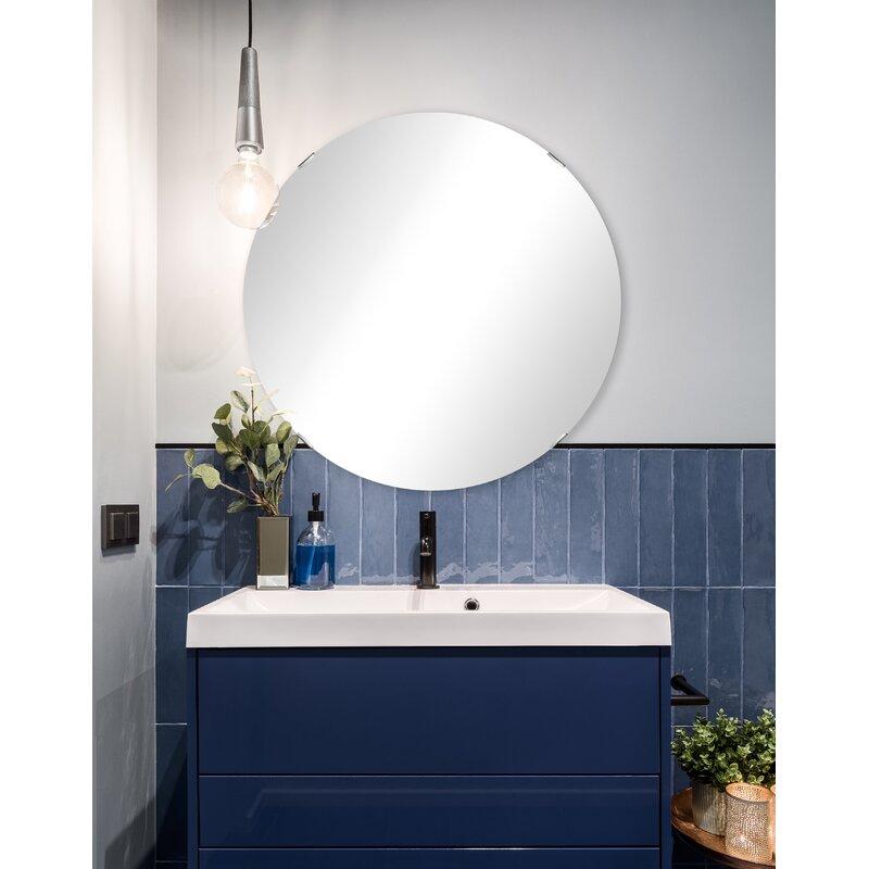 Allmodern Amie Glam Frameless Vanity Mirror