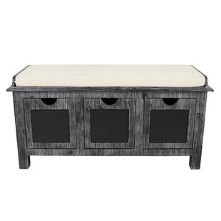 Winsted 3 Drawer Upholstered Storage Bench