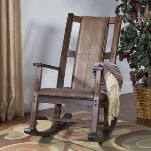 Loon Peak Birney Rocking Chair