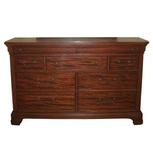 Darby Home Co Edith 9 Drawer Standard Dresser