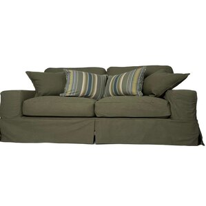 Oxalis Box Cushion Sofa Slipcover Set by Breakwater Bay