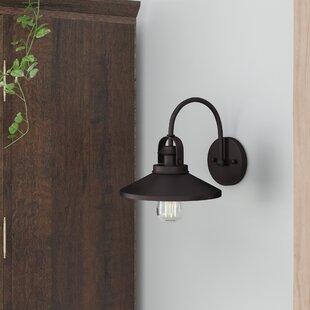 Affordable Price Bouvet Rogowski 1-Light Barn Light By Laurel Foundry Modern Farmhouse