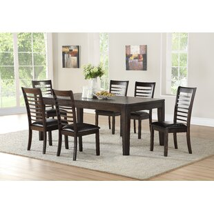 Lapinski 7 Piece Extendable Dining Set